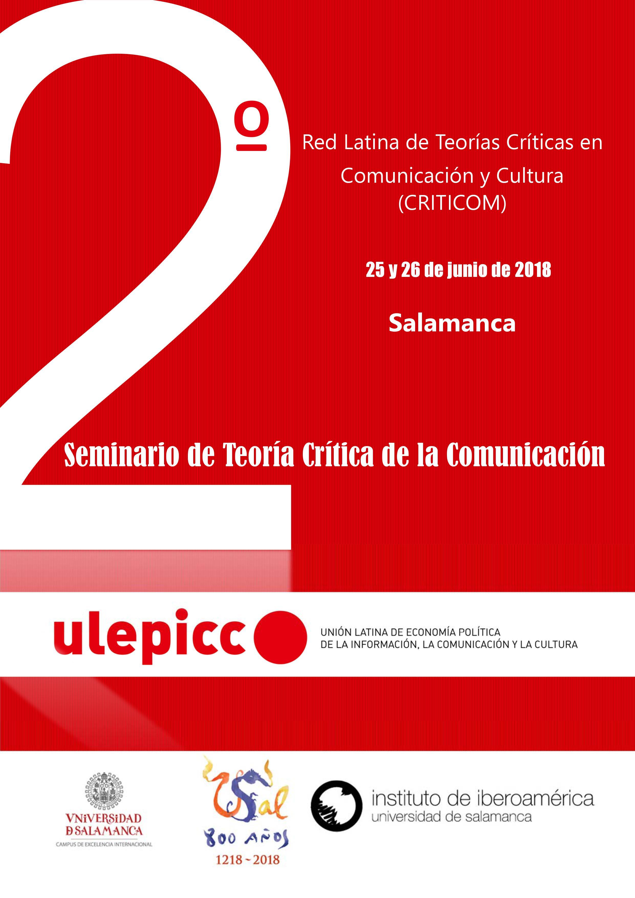 Seminario Internacional Teoría Crítica
